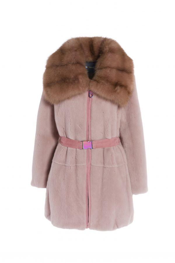 19526 Mink Jacket with Marten
