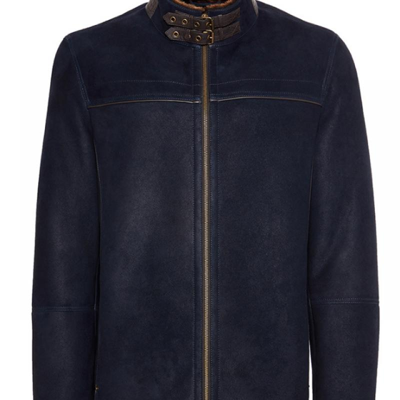 Mens Merino Shearling Sheepskin Jacket