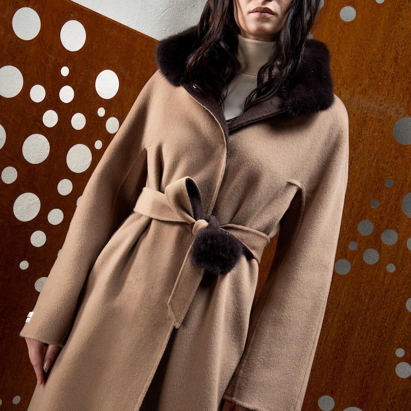 cachemire double coat L914