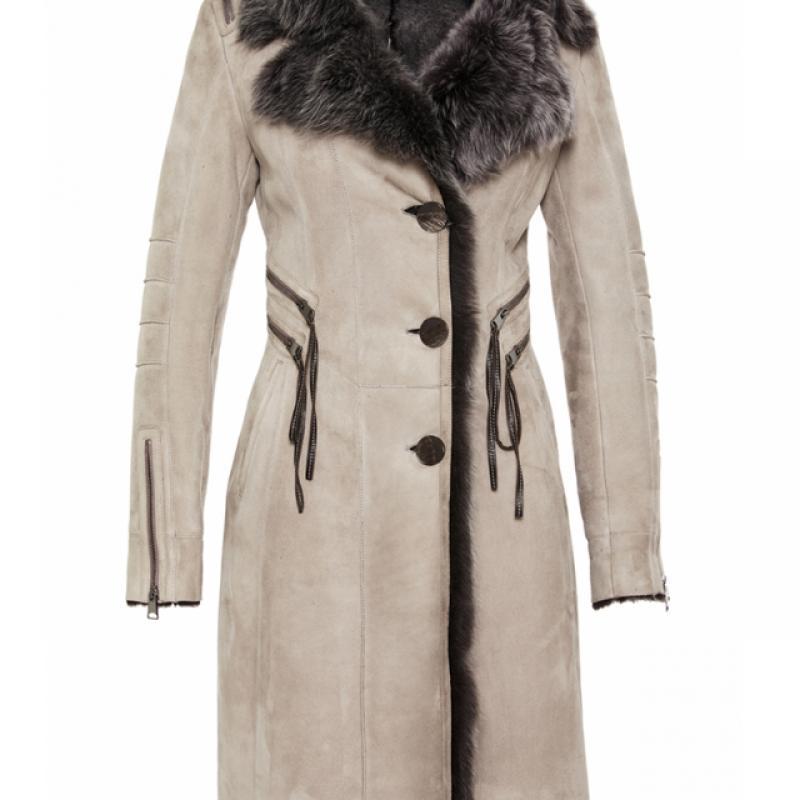 Womens Toscana Shearling Sheepskin Coat