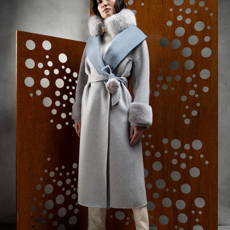 cachemire double coat L926