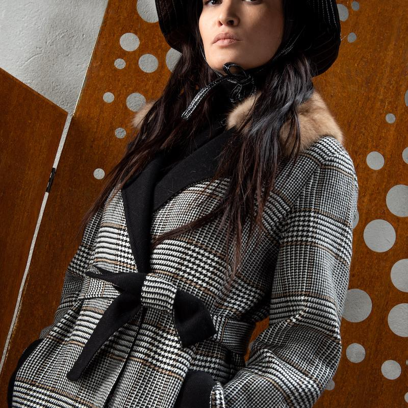 wool Loro Piana double coat L915XR
