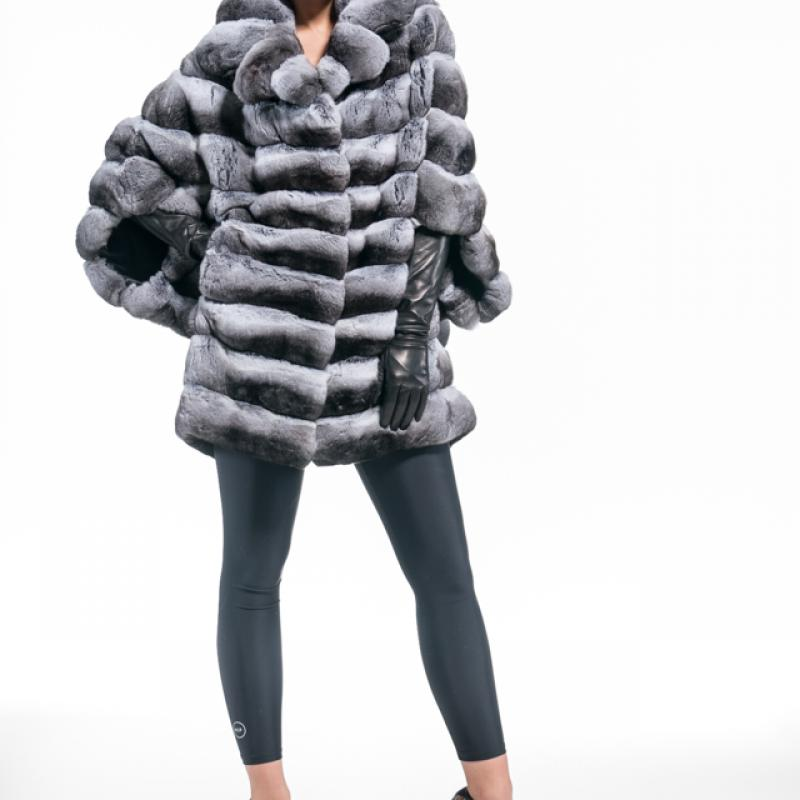 Chinchilla Half Coat
