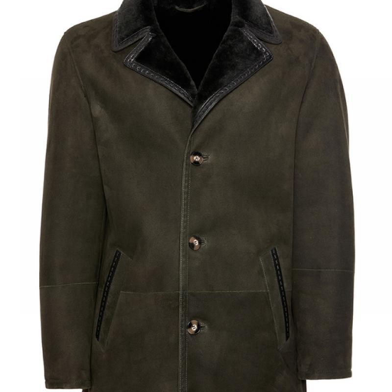 Mens Merino Shearling Sheepskin Coat