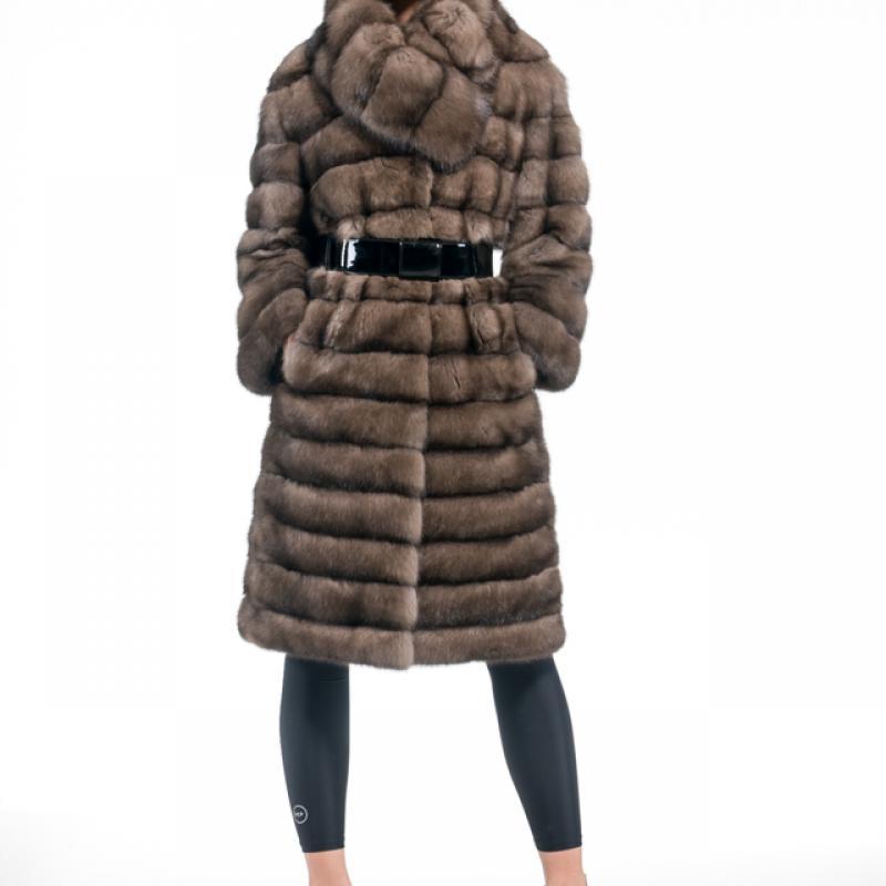 Russian Sable Half Coat