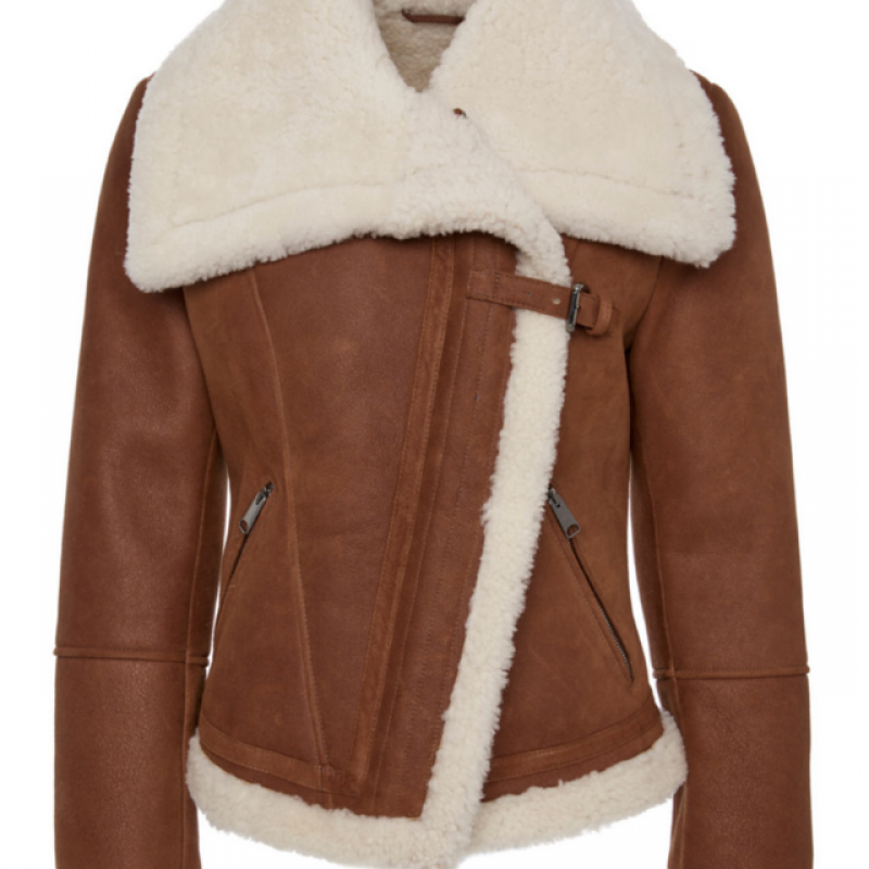 Womens Sheepskin Shearling Jacket