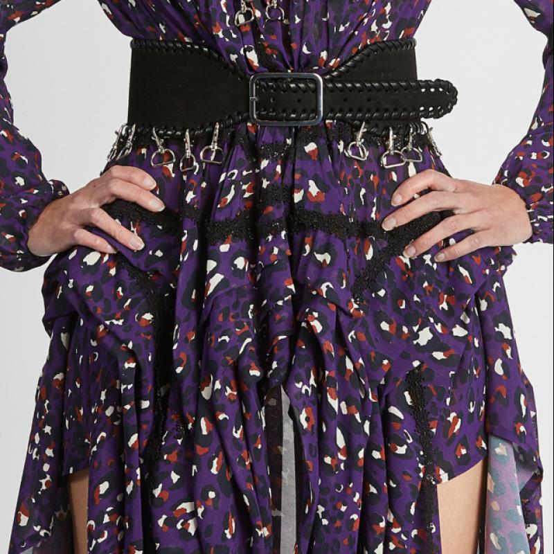 IMPERIAL PURPLE FANTASY DRESS