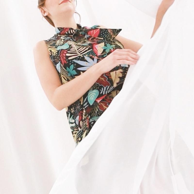 CHIC JUNGLE FANTASY DRESS
