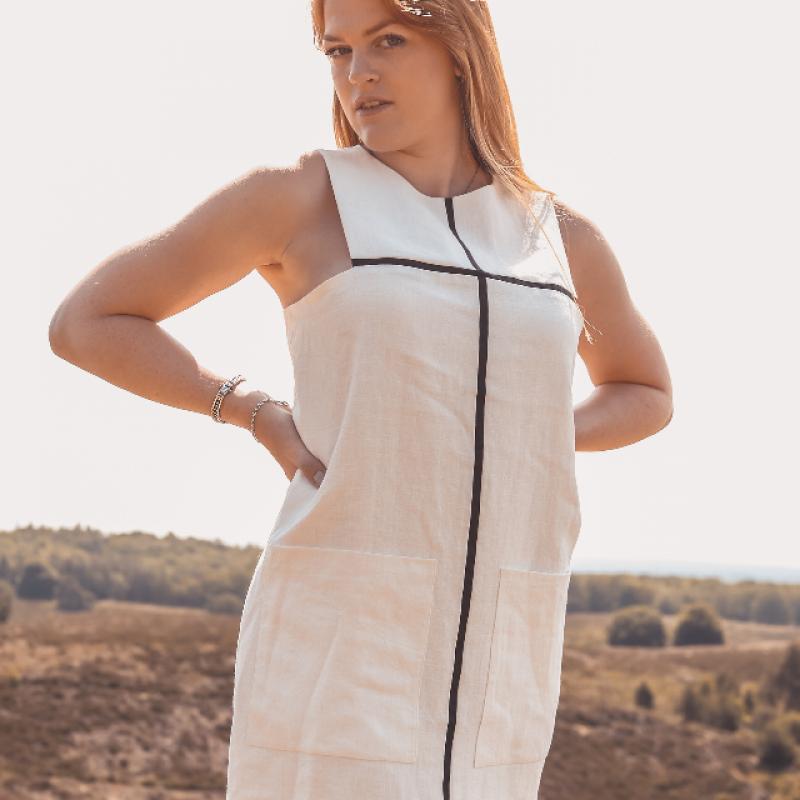 MINIMAL MONDRIAN DRESS